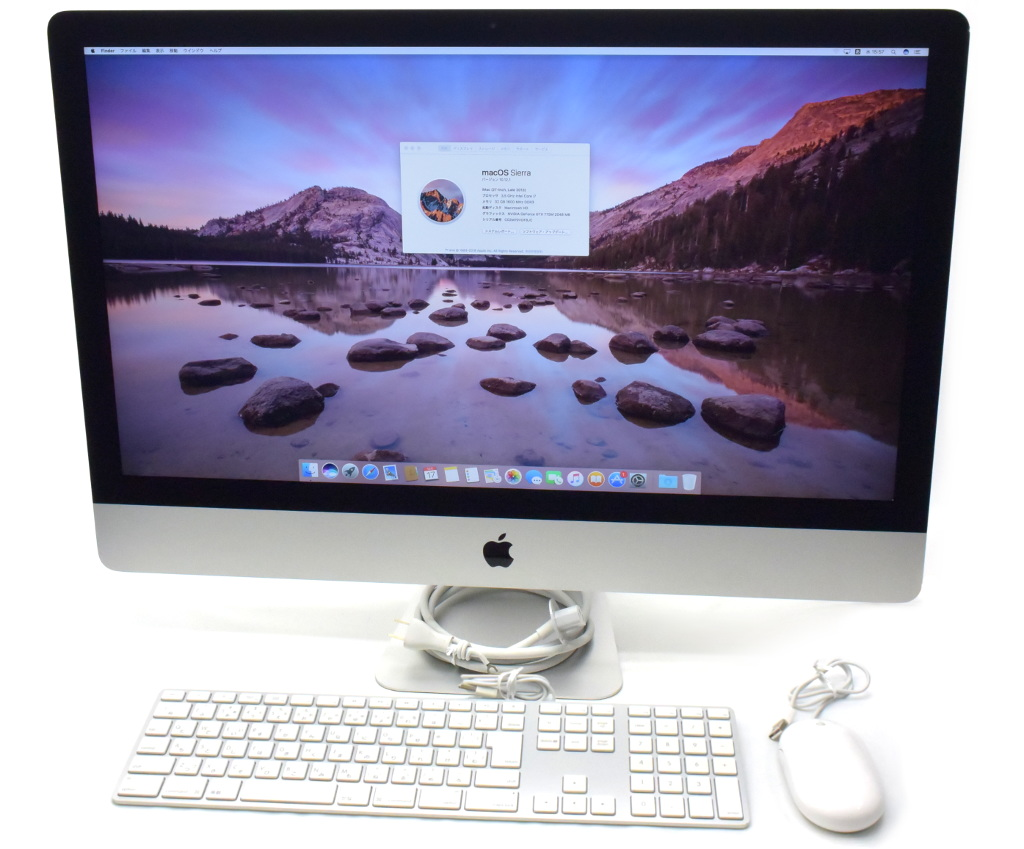 かわいい! Apple iMac 27インチ Core i7-4771 3.5GHz 24GB 1TB FusionDrive GTX775M macOS Sierra Late 2013 【】【20181023】, スリッパ Online Shop 12803d10