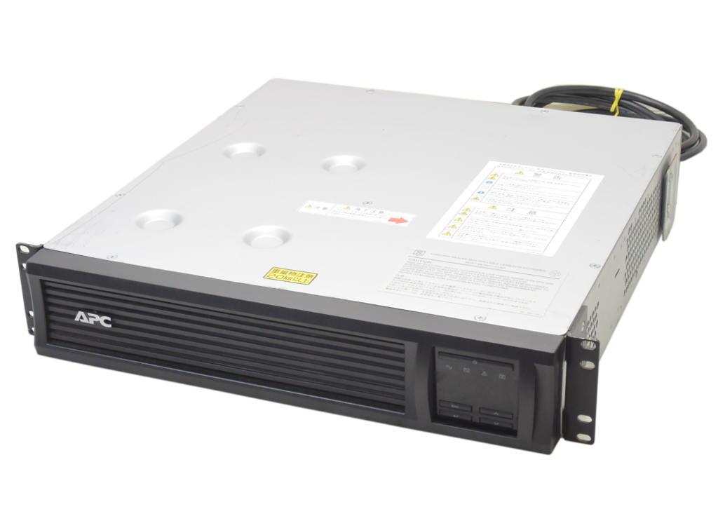 【送料無料対象外】APC Smart-UPS 1500 RM 2U LCD SMT1500RMJ2U 100V対応ラック型液晶コンソール付UPS バッテリ推奨期限2018年3月 【中古】【20181022】