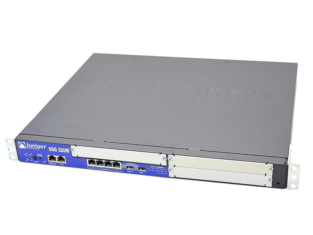 Juniper SSG 320M SSG-320M-SH Ver.6.2.0r8-cu1.0 設定初期化済 【中古】【20181029】