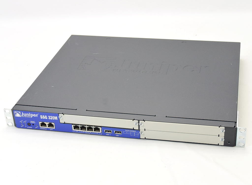 Juniper SSG 320M SSG-320M-SH Ver.6.1.0r7.0 設定初期化済 【中古】【20181029】