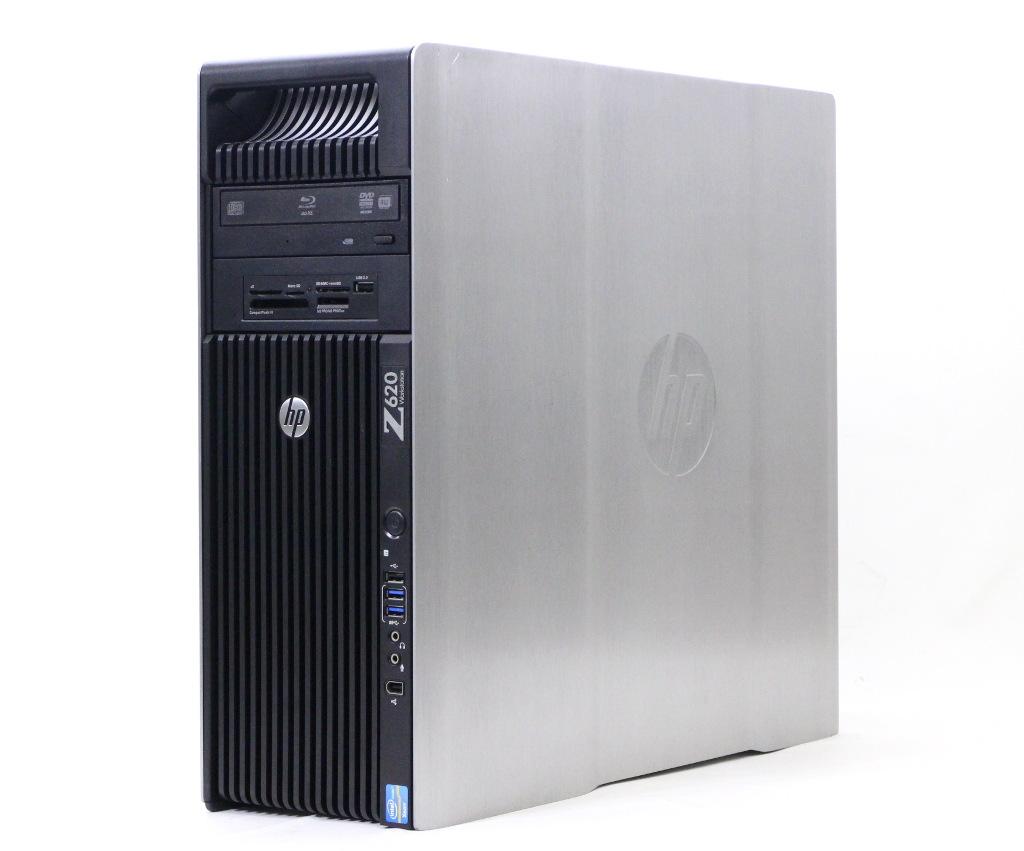 hp Z620 Xeon E5-2690 v2 3GHz*2 64GB 1TBx2台構成 Quadro K2000 BD-RE Windows7 Pro 64bit 【中古】【20181121】