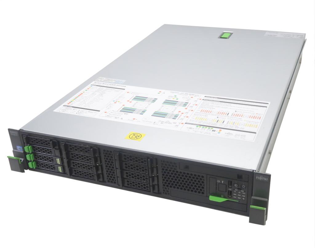 富士通 PRIMERGY RX300 S7 Xeon E5-2643 3.3GHz*2 32GB 300GBx3台(SAS2.5インチ/6Gbps/RAID5構成) AC*2 D2616 【中古】【20181107】