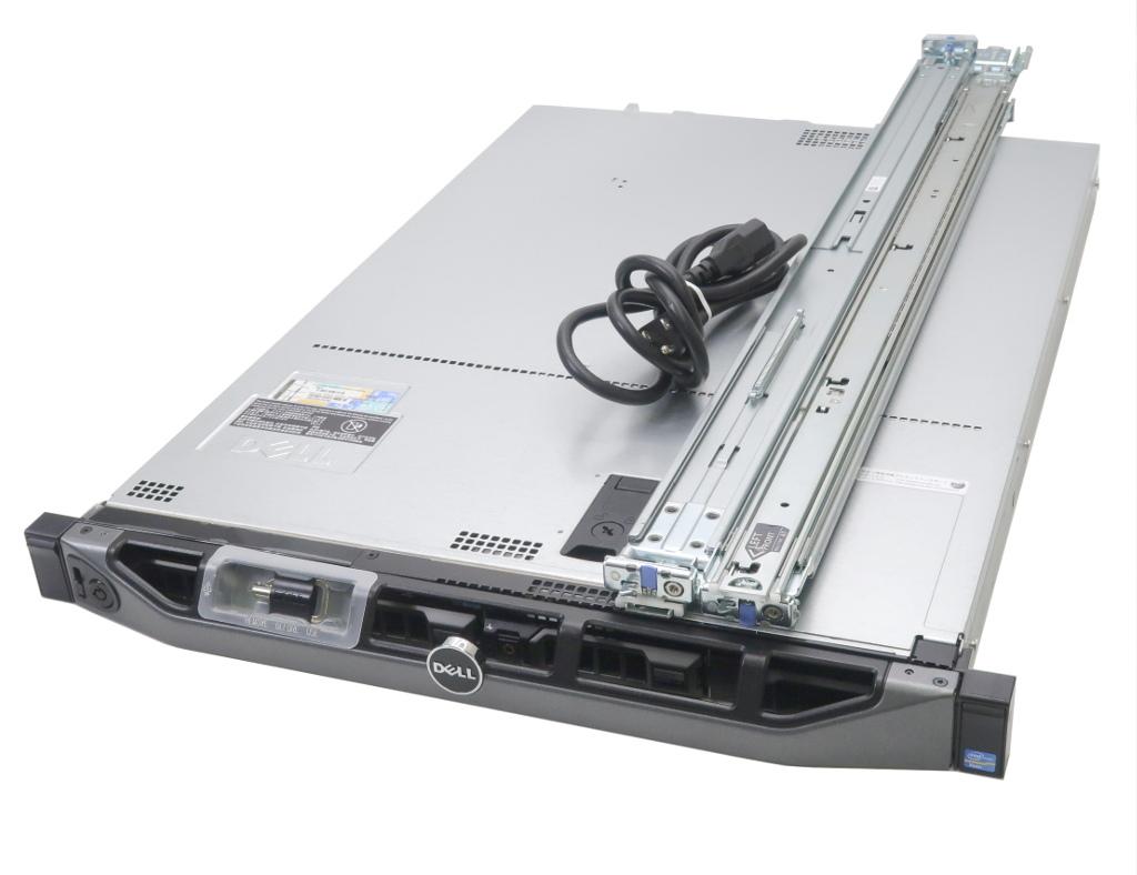 DELL PowerEdge R320 Xeon E5-2440 v2 1.9GHz 24GB 500GBx3台(SATA3.5インチ/RAID5構成) DVD-ROM PERC H310 Mini 【中古】【20181115】