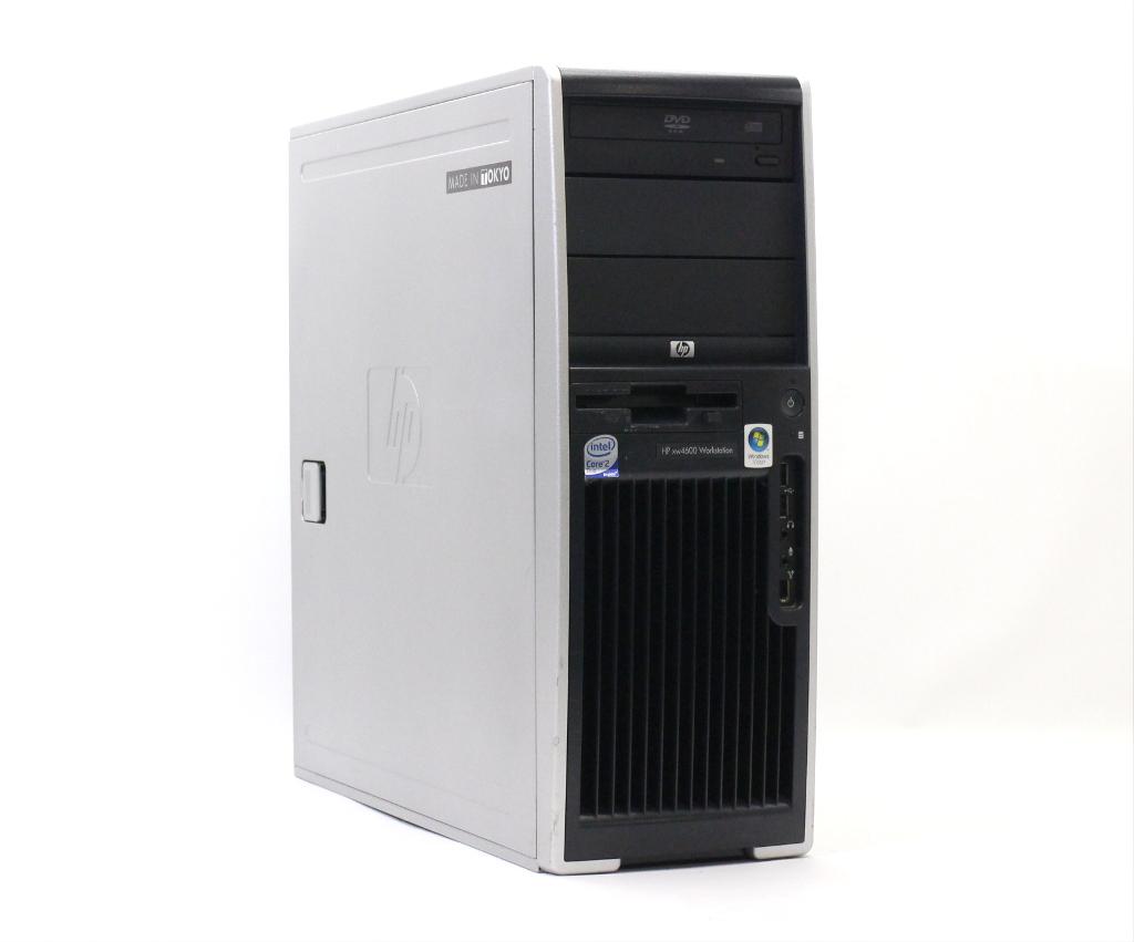 hp xw4600 Core2Duo E8400 3.00GHz 4GB 250GB Quadro FX1700 XP Pro 32bit 【中古】【20181102】