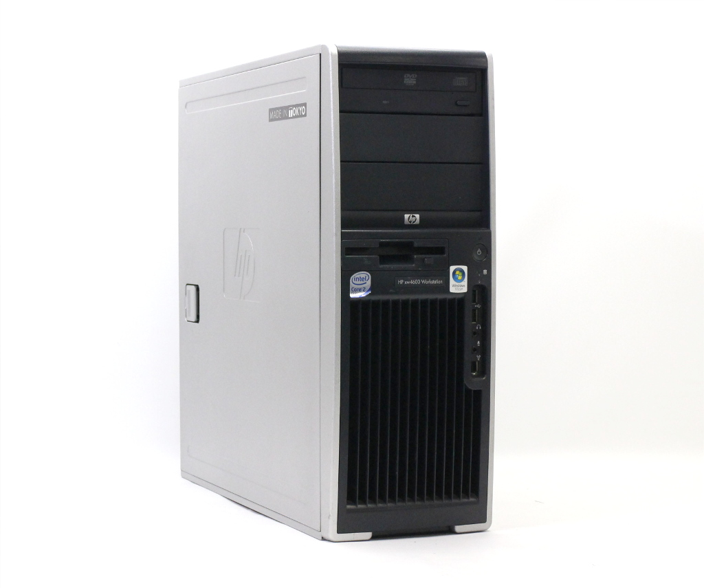 hp xw4600 Core2Duo E8400 3.00GHz 4GB 250GB Quadro FX560 XP Pro 32bit 【中古】【20181102】