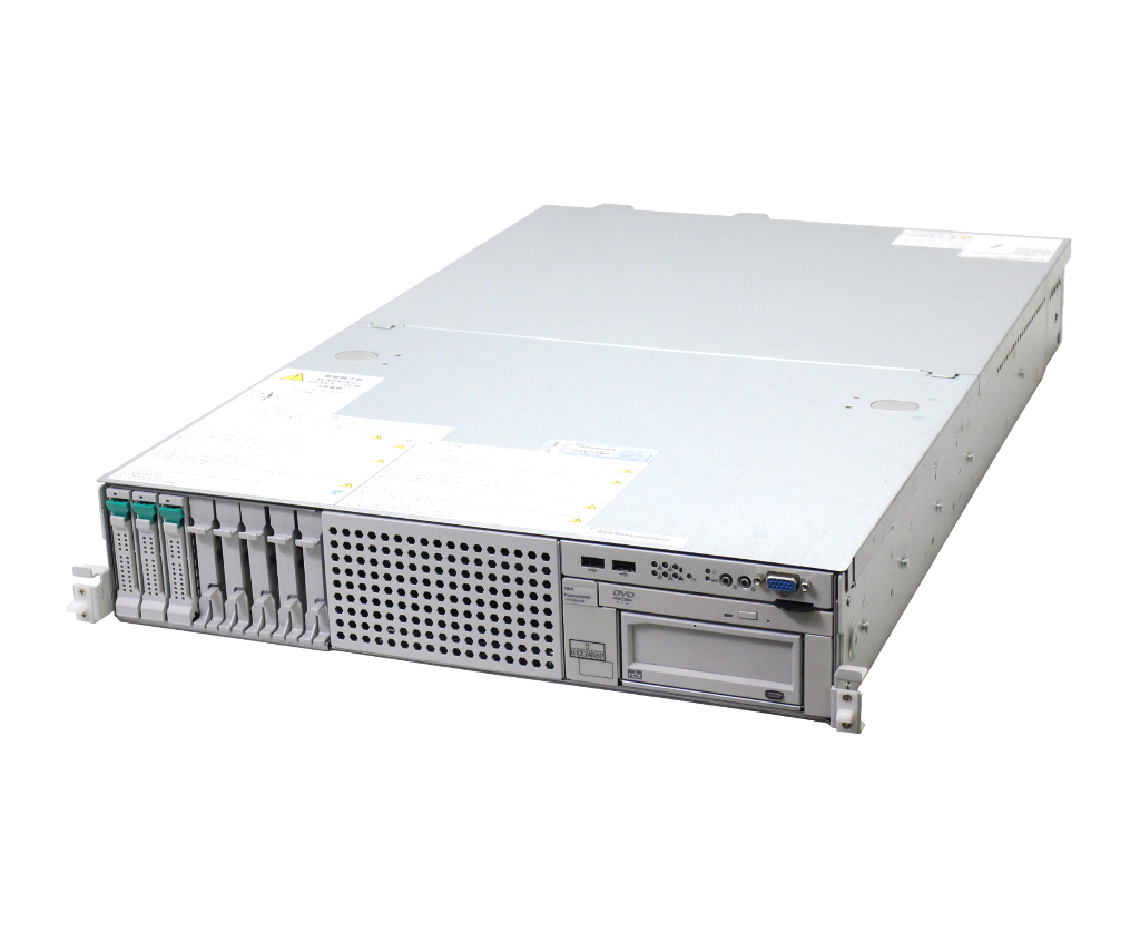 NEC Express5800/R120d-2E 冗長電源 Xeon E5-2403 1.8GHz 8GB 146GBx3台(SAS2.5/6Gbps/RAID5) DVD-ROM LSI Mega RAID 9267-8i 【中古】【20181122】