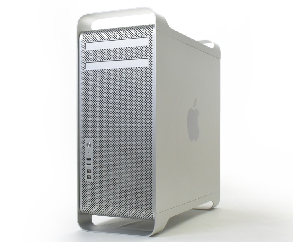 Apple Mac Pro 4コア Xeon 3.2GHz 8GB 1TB Radeon HD5870 macOS HighSierra 10.13.5 Mid 2012 少々難 【中古】【20181113】