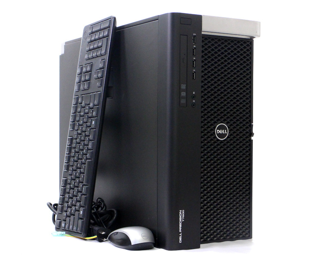 DELL Precision T7600 Xeon E5-2687W 3 1GHz *2 512GB 512GB (SSD) 3TB(HDD)  Quadro K5000 DVD+-RW Windows10 Pro 64bit PERC H310