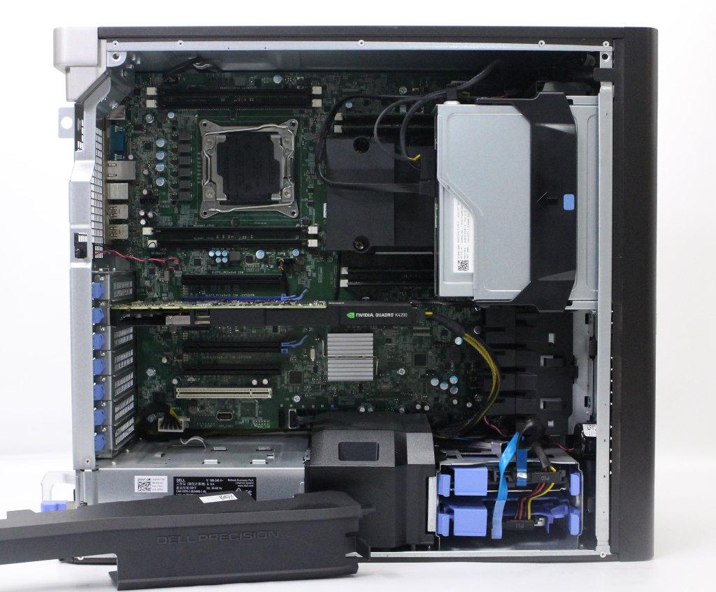 DELL Precision Tower 7810 Xeon E5-2650 v3 2.3GHz 16GB 256GB(SSD) 1TB(HDD) Quadro K4200 DVD+-RW Windows10 Pro 64bit 【20190125】