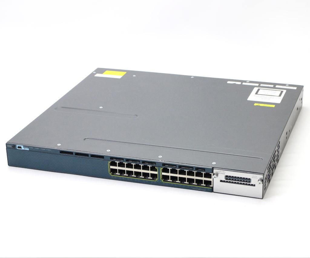 Cisco WS-C3560X-24T-S V04 IPSERVICES Ver.15.0(1)SE3 設定初期化済 小難 【中古】【20190129】