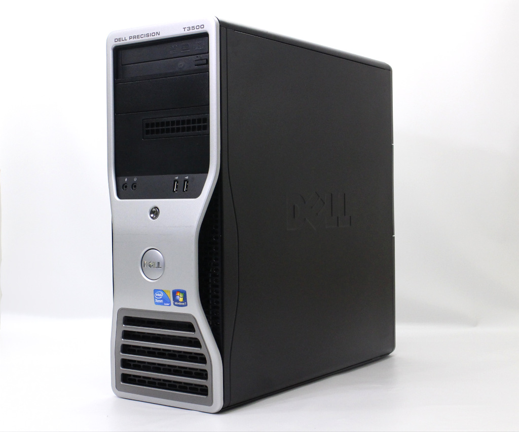 DELL Precision T3500 Xeon W3690 3.46GHz 12GB 1TB Quadro 600 DVD+-RW Windows7 Pro 64bit 【中古】【20190205】