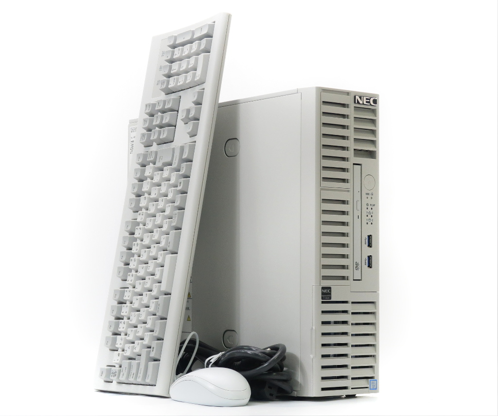 NEC Express5800/T110h-S Xeon Xeon DVD-ROM NEC E3-1220 v5 3GHz 16GB 500GBx2台(SATA3.5インチ/RAID1構成) DVD-ROM【中古】【20190208】, 暮らし楽市ペーパーイメージ:b51181c9 --- officewill.xsrv.jp