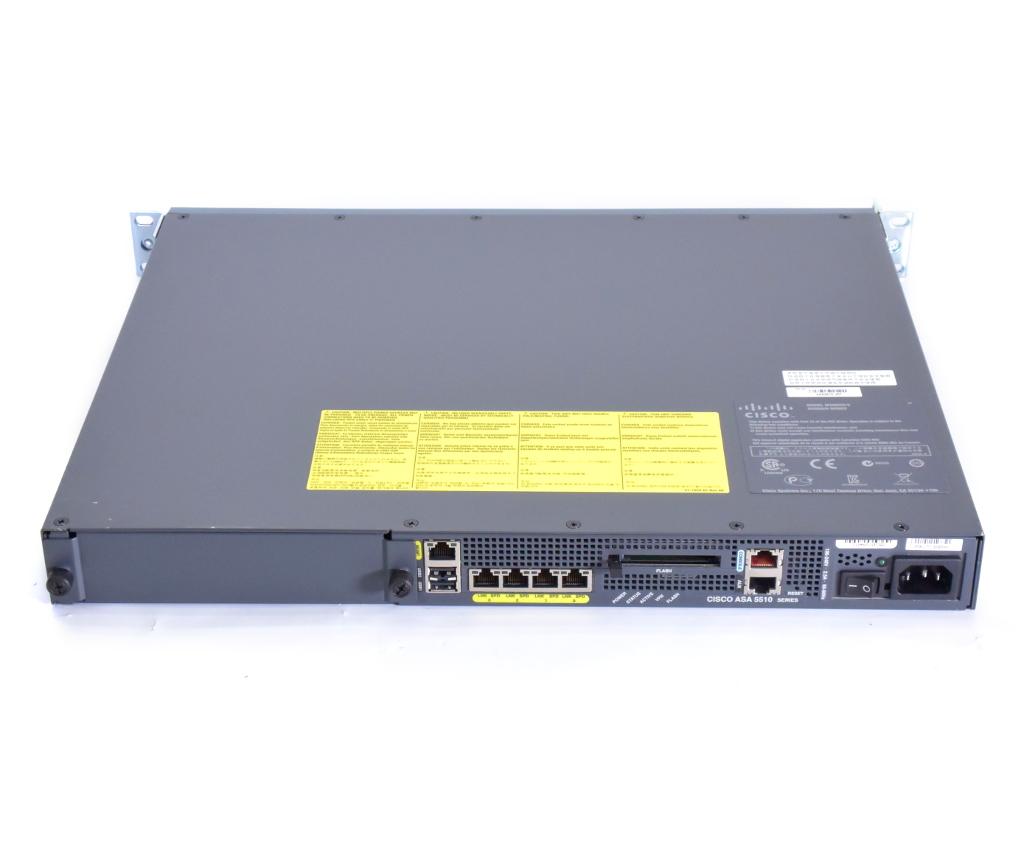 Cisco ASA 5510 V07 SoftwareVer.8.2(5) ASA 5510 Security Plus license RAM1GB FLASH256MB 設定初期化済 【20190207】