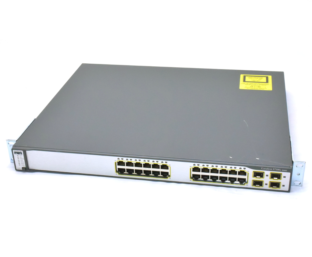 Cisco WS-C3750G-24TS-E1U Catalyst 3750G 設定初期化済 WS-C3750G-24TS-E1U V03 C3750-IPSERVICES-M Ver.12.2(53)SE2 Ver.12.2(53)SE2 設定初期化済【中古】【20190219】, グッドデザインのグデザ:f1226227 --- officewill.xsrv.jp