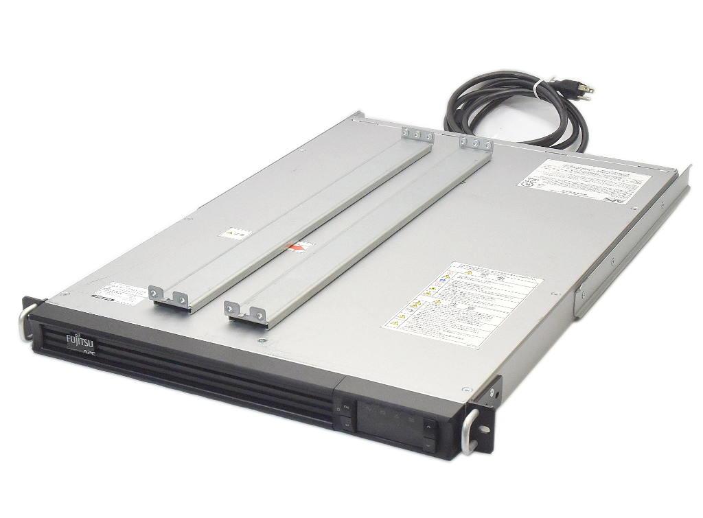 富士通 Smart-UPS 1200 RM 1U LCD FJM1200RMJ1U (APC SMT1200RMJ1U OEM) UPS バッテリ推奨期限2021年5月 【中古】【20181227】