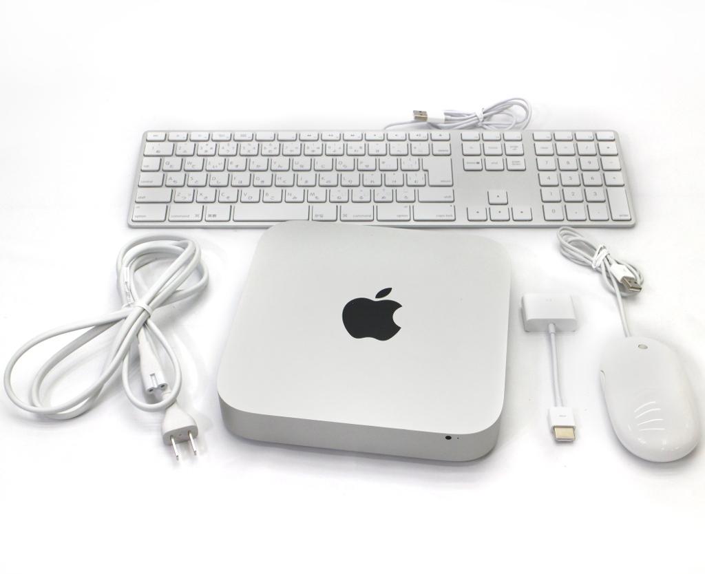 Apple Mac mini Core i7-3720QM 2.6GHz 16GB 1TB FusionDrive Thunderbolt macOS Sierra 10.12.1 Late 2012 【中古】【20190227】