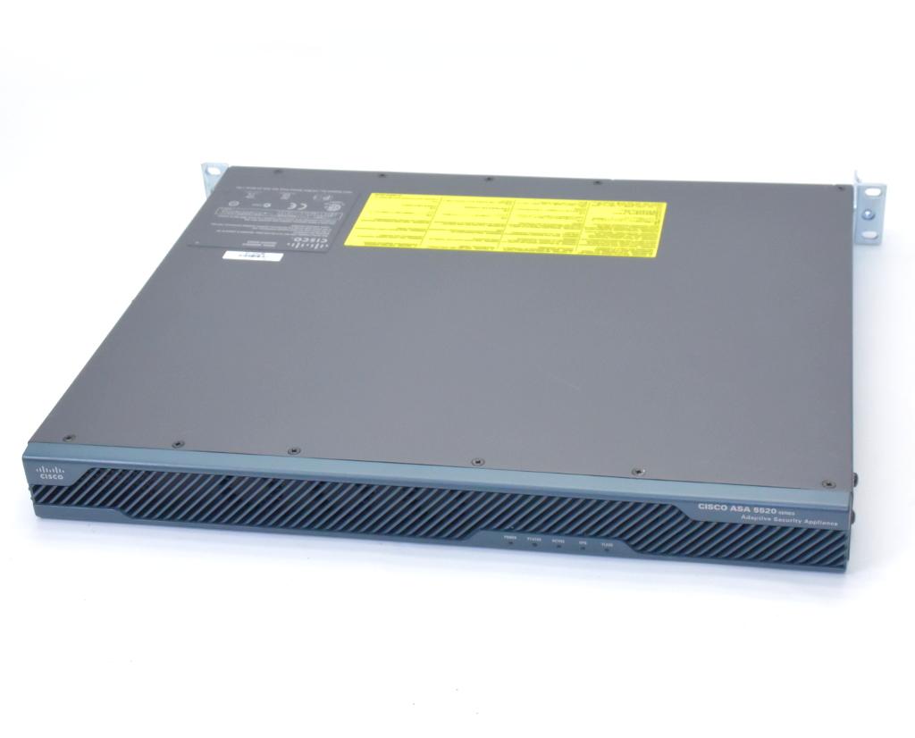 Cisco ASA 5520 V06 SoftwareVer.8.2(2) ASA 5520 VPN Plus License RAM2GB FLASH256MB 設定初期化済 【中古】【20190227】