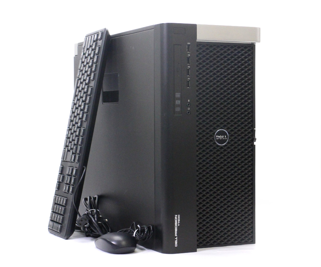 DELL Precision T7600 Xeon E5-2687W 3.1GHz*2 64GB 256GB(SSD) 1TB Quadro 600 Tesla K40c Windows7 Pro 1300W電源 小難あり 【中古】【20190308】