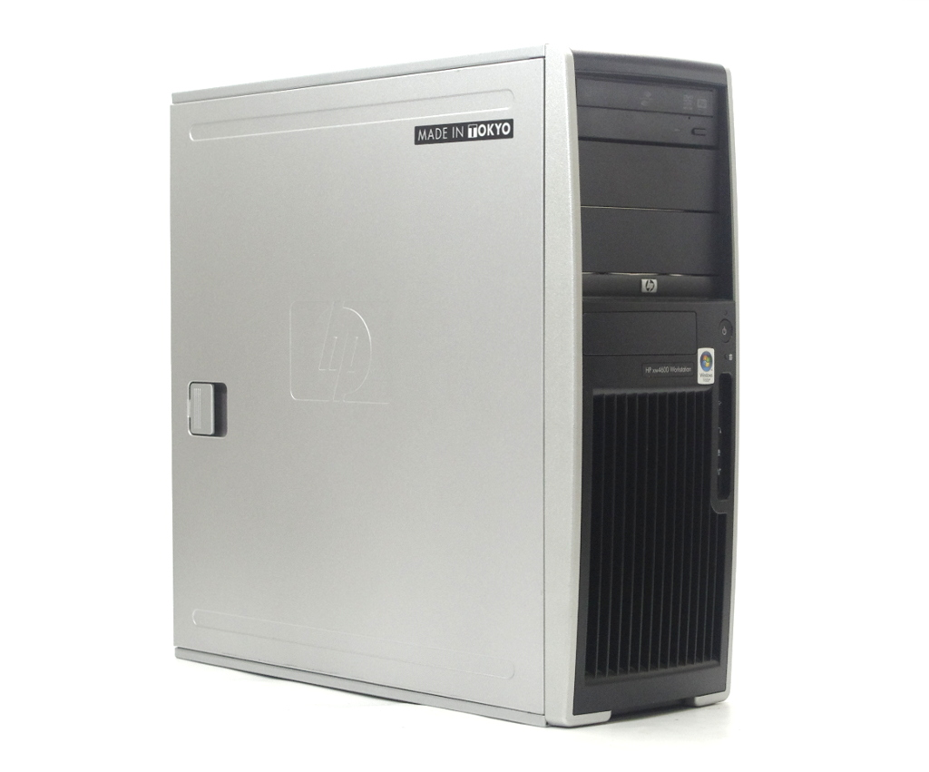 hp xw4600 Workstation Core2Duo E8600 3.33GHz 4GB 250GB(HDD) Quadro FX370 DVD+-RW WindowsXP Pro 32bit 【中古】【20190315】
