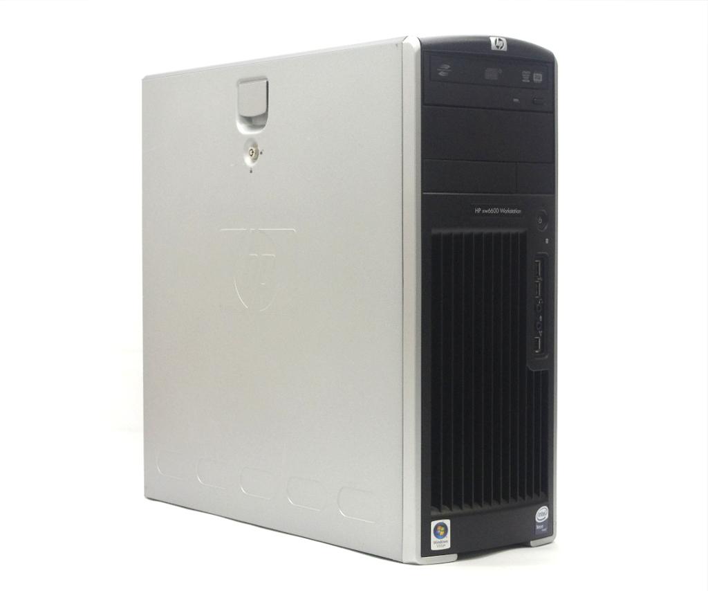 hp xw6600 Workstation Xeon E5450 3GHz 4GB 500GB(HDD) Quadro FX370 DVD+-RW WindowsXP Pro 32bit 【中古】【20190315】