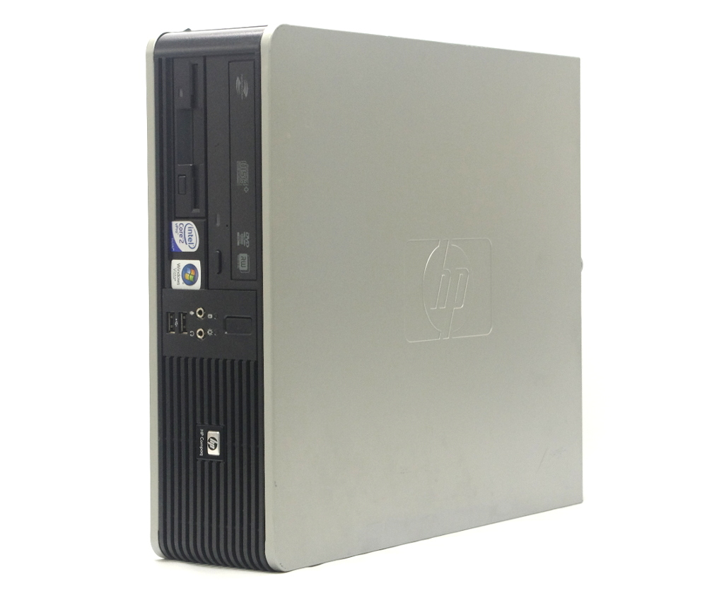 hp Compaq dc7900 SFF Core2Duo E8600 3.33GHz 4GB 160GB(HDD) DisplayPort アナログRGB出力 DVD+-RW WindowsXP Pro 32bit 【中古】【20190315】