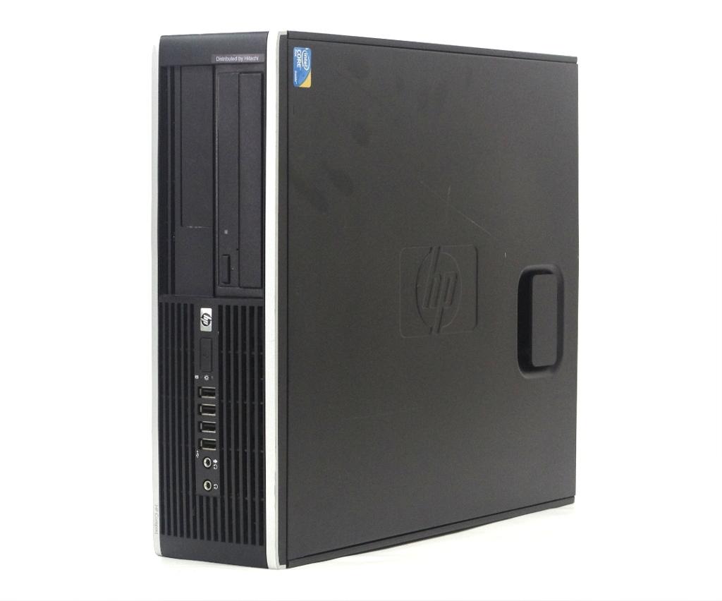 hp Compaq 6000 Pro SFF Core2Duo E8400 3GHz 4GB 160GB(HDD) DisplayPort アナログRGB DVD-ROM WindowsXP Pro 32bit 【中古】【20190315】
