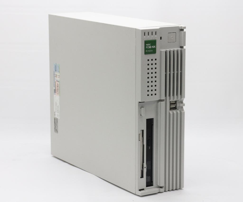 NEC FC98-NX FC-E21A Core2Duo T7400 2.16GHz 1GB 320GBx2台 (ハードウェアミラーリング) DVD-ROM WindowsXP Pro 32bit 小難あり 【中古】【20190315】