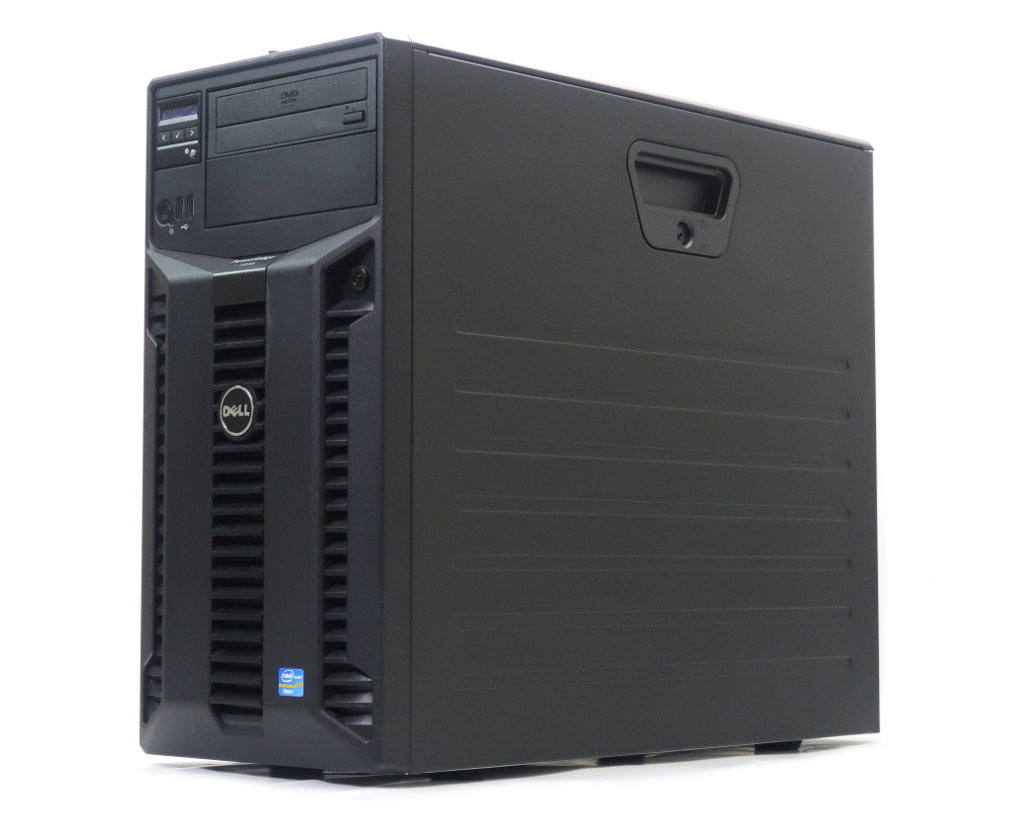 DELL PowerEdge T310 Xeon X3450 2.66GHz 4GB 300GBx3台(SAS3.5インチ/6Gbps/RAID5構成) DVD-ROM AC*2 PERC H700 冗長電源 【中古】【20190307】