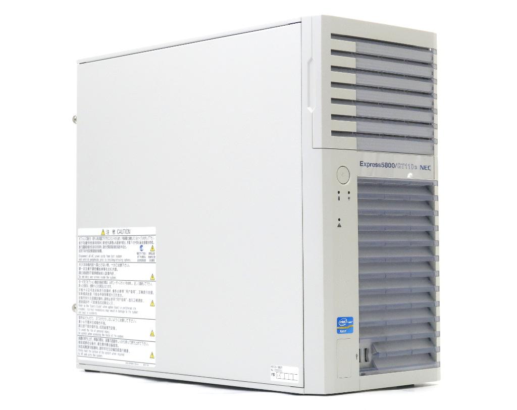 NEC Express5800/GT110e Xeon E3-1220 v2 3.1GHz 4GB 500GBx2台(SATA3.5インチ/RAID1構成) DVD-ROM 【中古】【20190307】