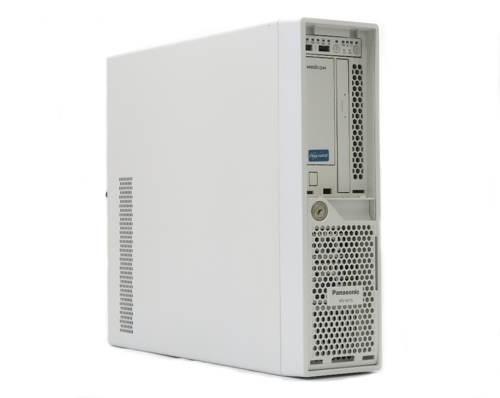 Panasonic MV-H27SB Xeon E3-1220 v2 3.1GHz 4GB 500GBx2台(SATA3.5インチ/RAID1構成) DVD+-RW 【中古】【20190325】