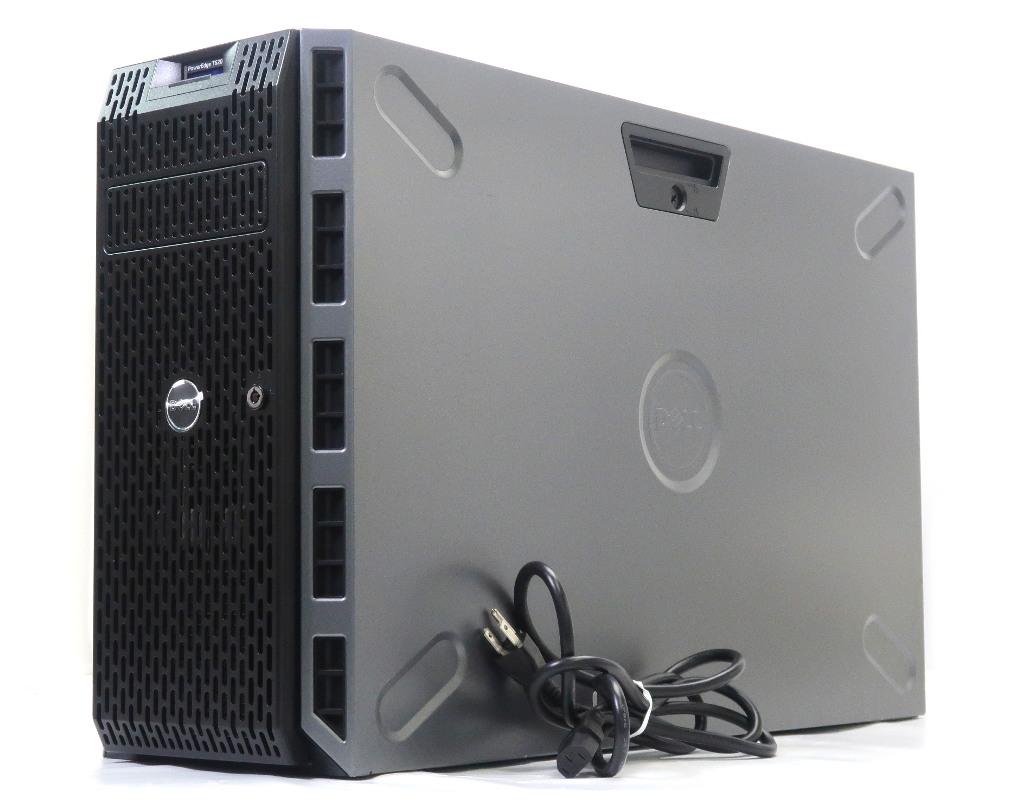 DELL PowerEdge T620 Xeon E5-2630 v2 2.6GHz*2 16GB 2TBx3台(SATA3.5インチ/RAID5構成) DVD-ROM PERC S110 【中古】【20190325】