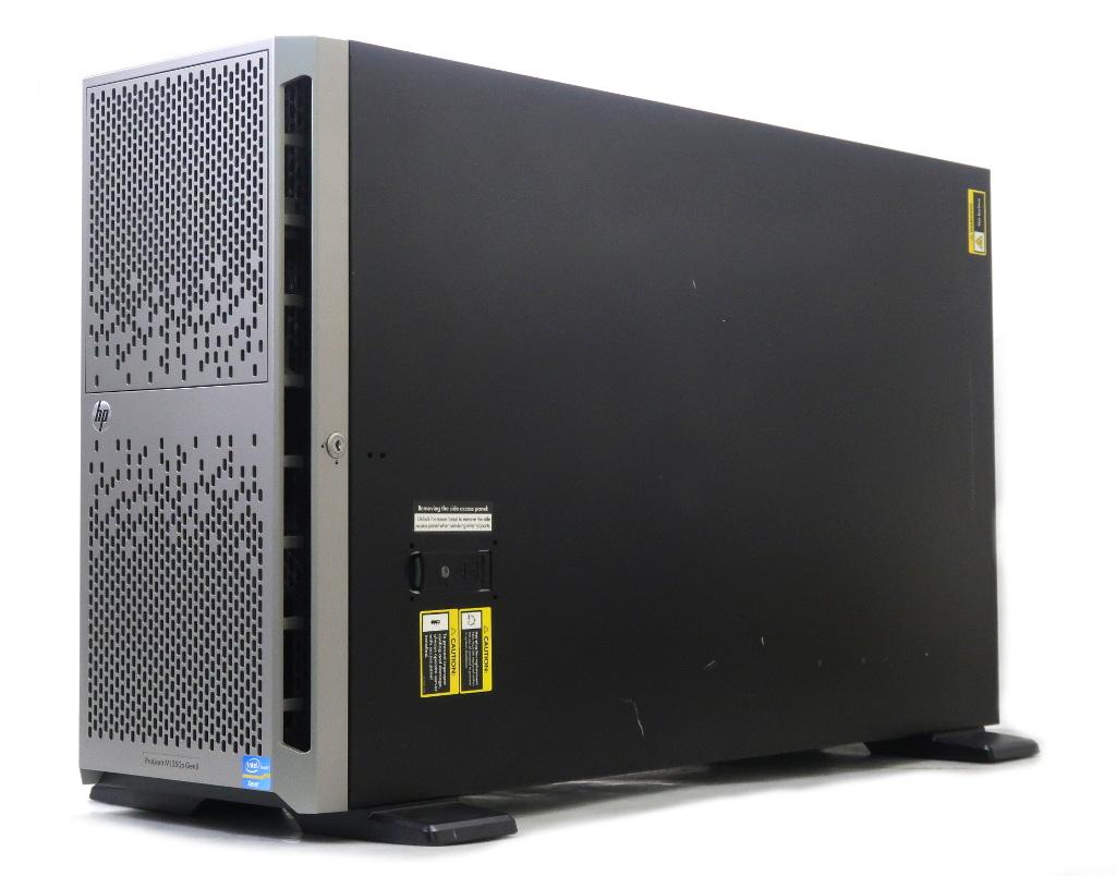 【送料無料対象外】hp ProLiant ML350p Gen8 Xeon E5-2609 2.4GHz 16GB 450GBx2台(6Gbps/RAID1) DVD-ROM AC*2 SmartArray P420i 3.5インチモデル 【中古】【20190401】