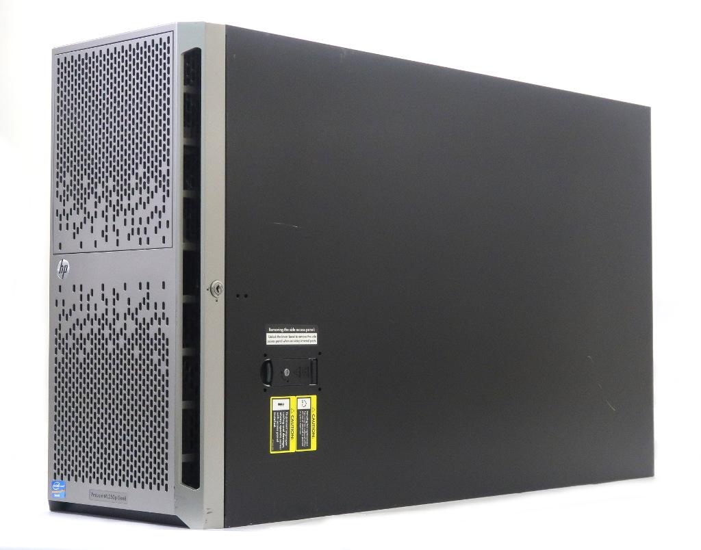 【送料無料対象外】hp ProLiant ML350p Gen8 Xeon E5-2609 2.4GHz 8GB 600GBx2台(6Gbps/RAID1) DVD-ROM AC*2 SmartArray P420i 2.5インチモデル 【中古】【20190401】