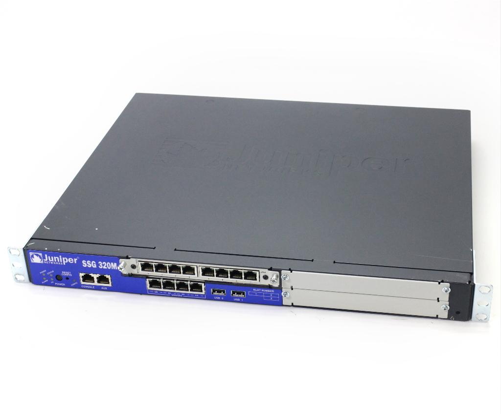 Juniper SSG 320M ScreenOS 6.2.0r5.0 Type Firewall+VPN Feature AV-K ユーザー数無制限 設定初期化済 【中古】【20190305】