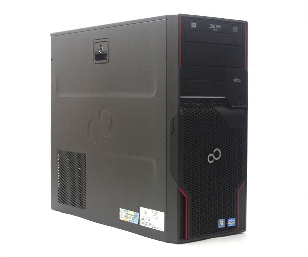 富士通 CELSIUS W520 Xeon E3-1275 v2 3.5GHz 16GB 500GB(HDD) Quadro 600 DVD+-RW Windows7 Pro 64bit 【中古】【20190405】