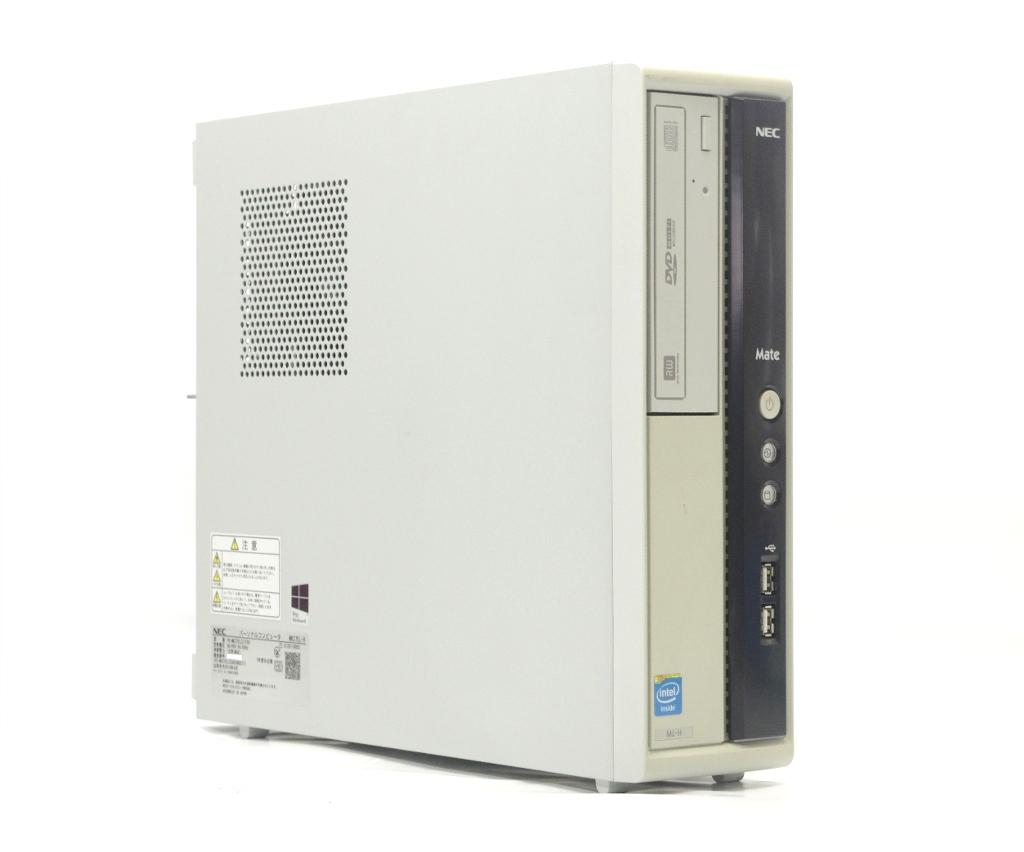 NEC MK27E/L-H Cerelon G1620 2.7GHz 2GB 250GB(HDD) DVI-D アナログRGB出力 DVD+-RW Windows10 Pro 64bit 【中古】【20190418】