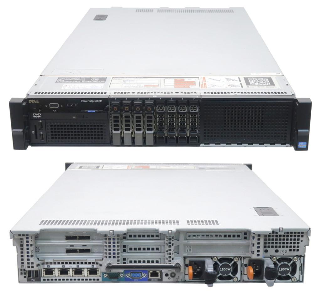 送料無料対象外 DELL PowerEdge R820 Xeon E5 4650 2 7GHz 128GB 900GBx4台 SAS2 5インチ 6Gbps RAID6DVD ROM AC 2 PERC H710P 32コア20190826eHD29WEYI