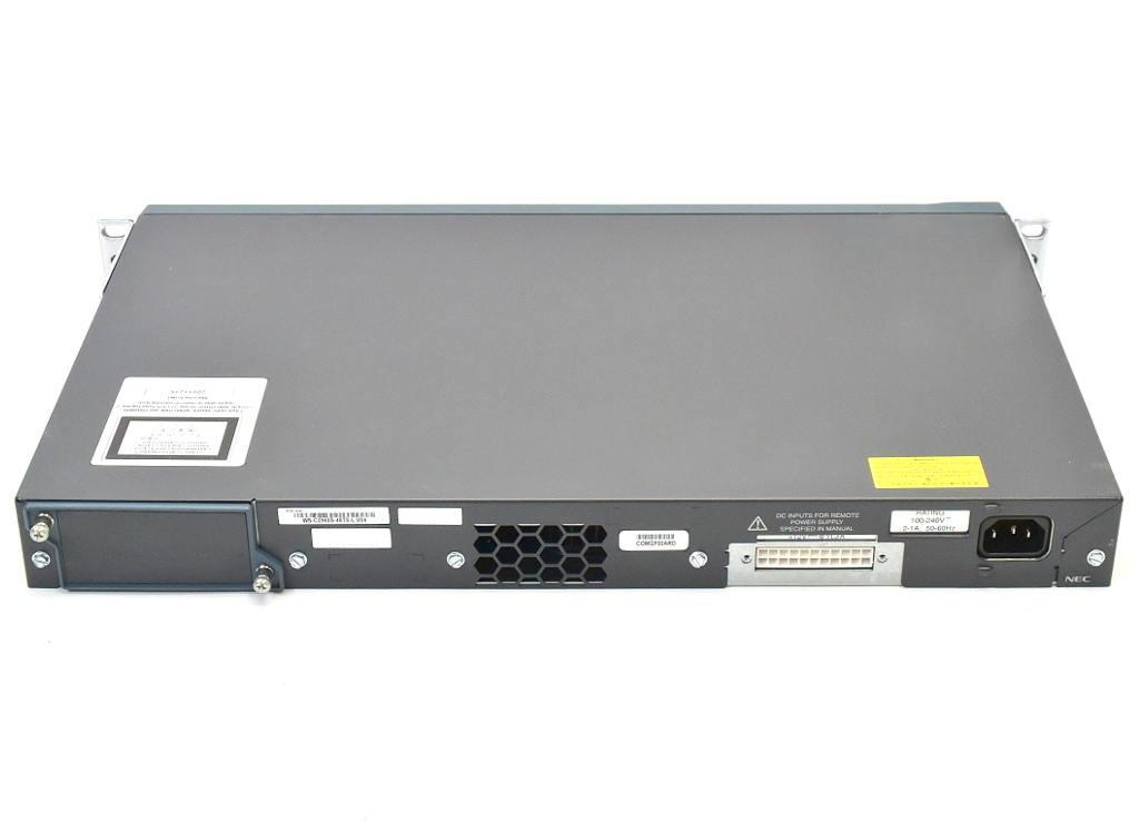 Cisco WS C2960S 48TS L V05 48ポート1000BASE T 4ポートSFPスロット搭載 C2960S UNIVERSALK9 M Ver 15 0 2 SE5 設定初期化済20190906rdBCWoexQ