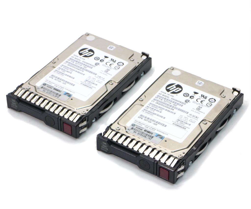 """HP EG0300FCSPH 689287-001 300GB 10K 6G 2.5/"""" SAS SC HARD DRIVE G8"""