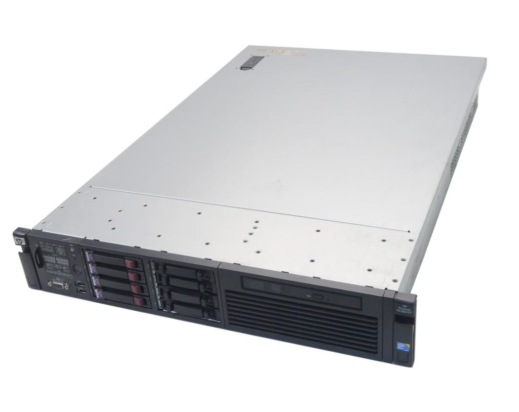 hp ProLiant DL380 G7 Xeon E5640 2.66GHz 12GB 450GBx4台(SAS2.5インチ/6Gbps/RAID5構成) DVD-ROM AC*2 SmartArray P410i 【中古】【20200303】