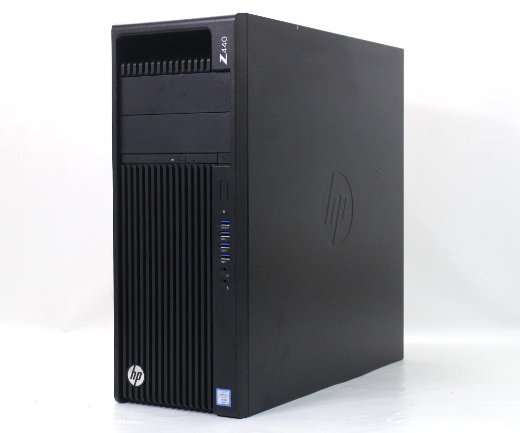 hp Z440 Workstation Xeon E5-1620 v4 3.5GHz 16GB 256GB(Z TurboDrive G2 SSD) 4TB GeForce GTX1050Ti Windows10 Pro 64bit 【中古】【20200328】