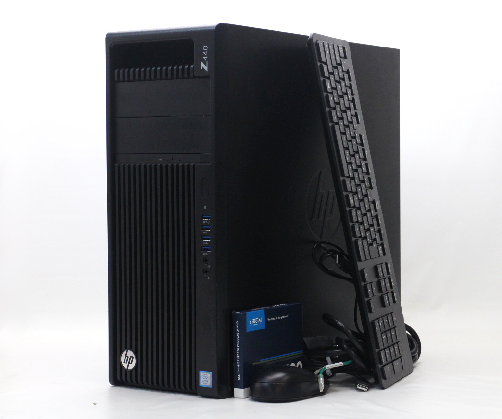 hp Z440 Xeon E5-1630 v4 3.7GHz 32GB 240GB(SSD) GeForce GTX1060 6GB Windows10 Pro for Workstation 64bit 新品SSD搭載 【中古】【20200415】