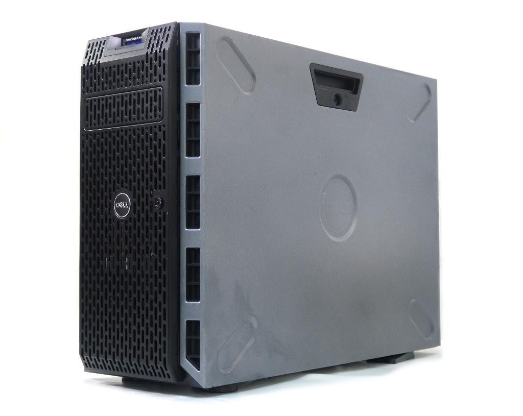 DELL PowerEdge T320 Xeon E5-2430 v2 2.5GHz 8GB 2TBx2台(SAS3.5インチ/6Gbps/RAID1構成) DVD+-RW AC*2 PERC H310 【中古】【20200421】