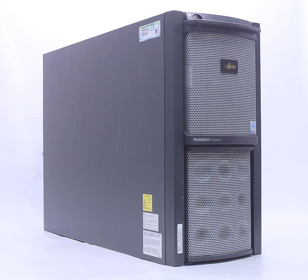 富士通 PRIMERGY TX150 S2 Pentium 4 3GHz 1GB 73GBx4台(SCSI3.5インチHDD/RAID5構成) CD-ROM 【中古】【20200602】