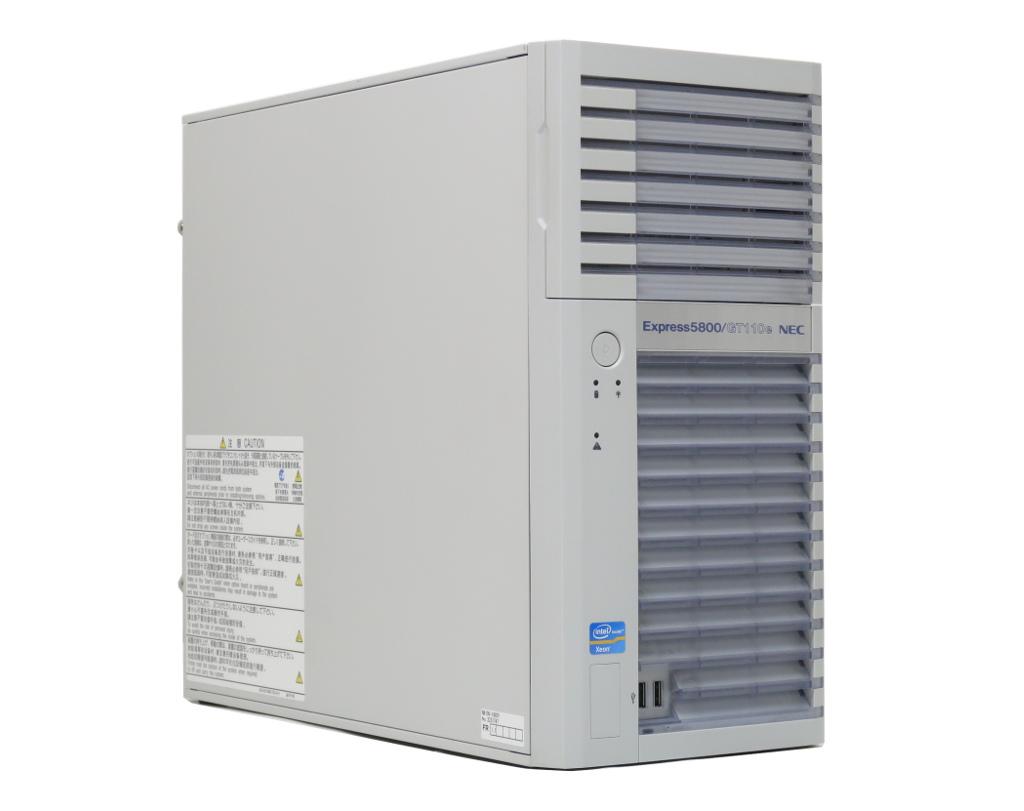 NEC Express5800/GT110e Xeon E3-1220 v2 3.1GHz 8GB 450GBx2台(SAS2.5インチ/6Gbps/RAID1構成) DVD-ROM MegaRAID SAS 9267-8i 【中古】【20200513】