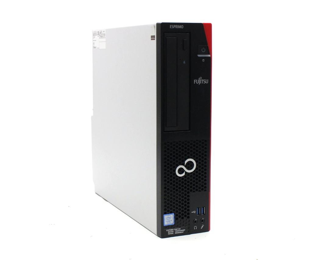 富士通 ESPRIMO D587/SX Core i5-7500 3.4GHz 8GB 500GB(HDD) DisplayPort DVI-D出力 DVD+-RW Windows10 Pro 64bit 【中古】【20200617】