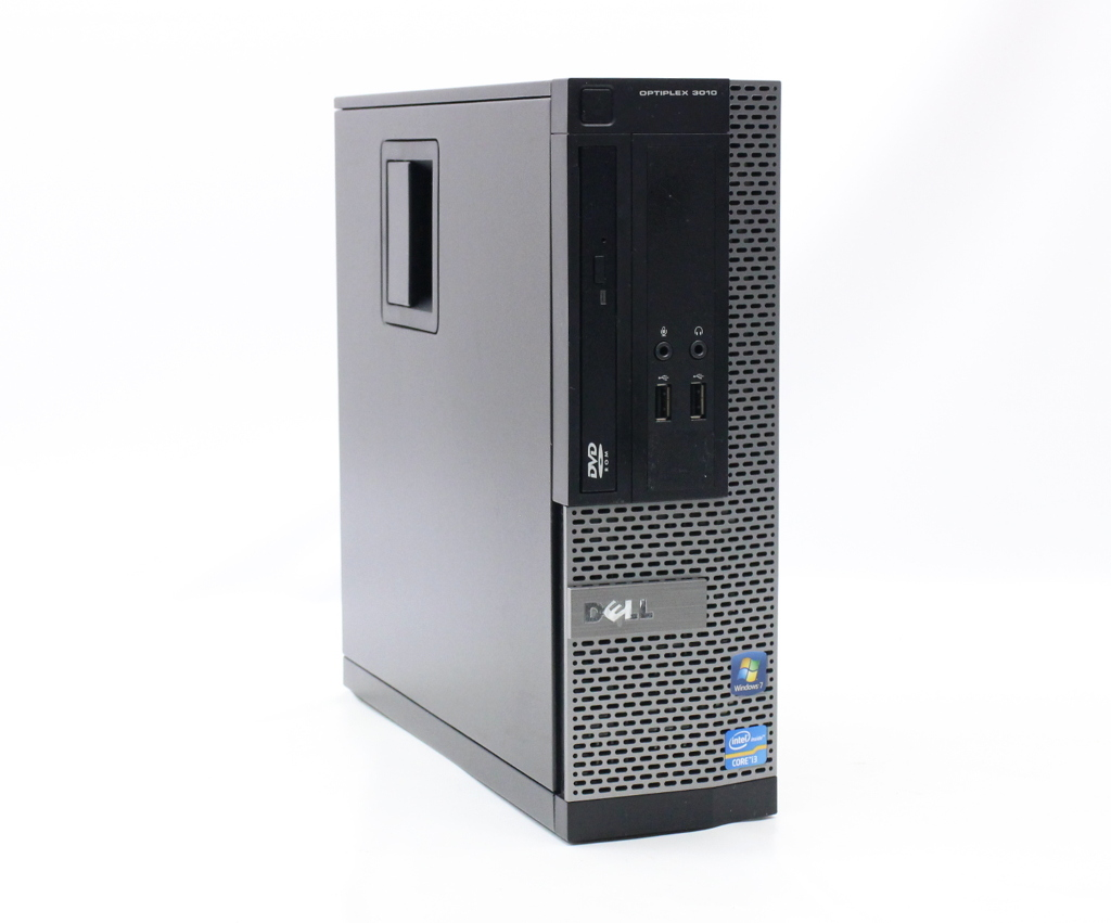 DELL OptiPlex 3010 SFF Core i3-3250 3.5GHz 4GB 500GB(HDD) HDMI アナログRGB出力 DVD-ROM Windows7 Pro 64bit 【中古】【20200703】