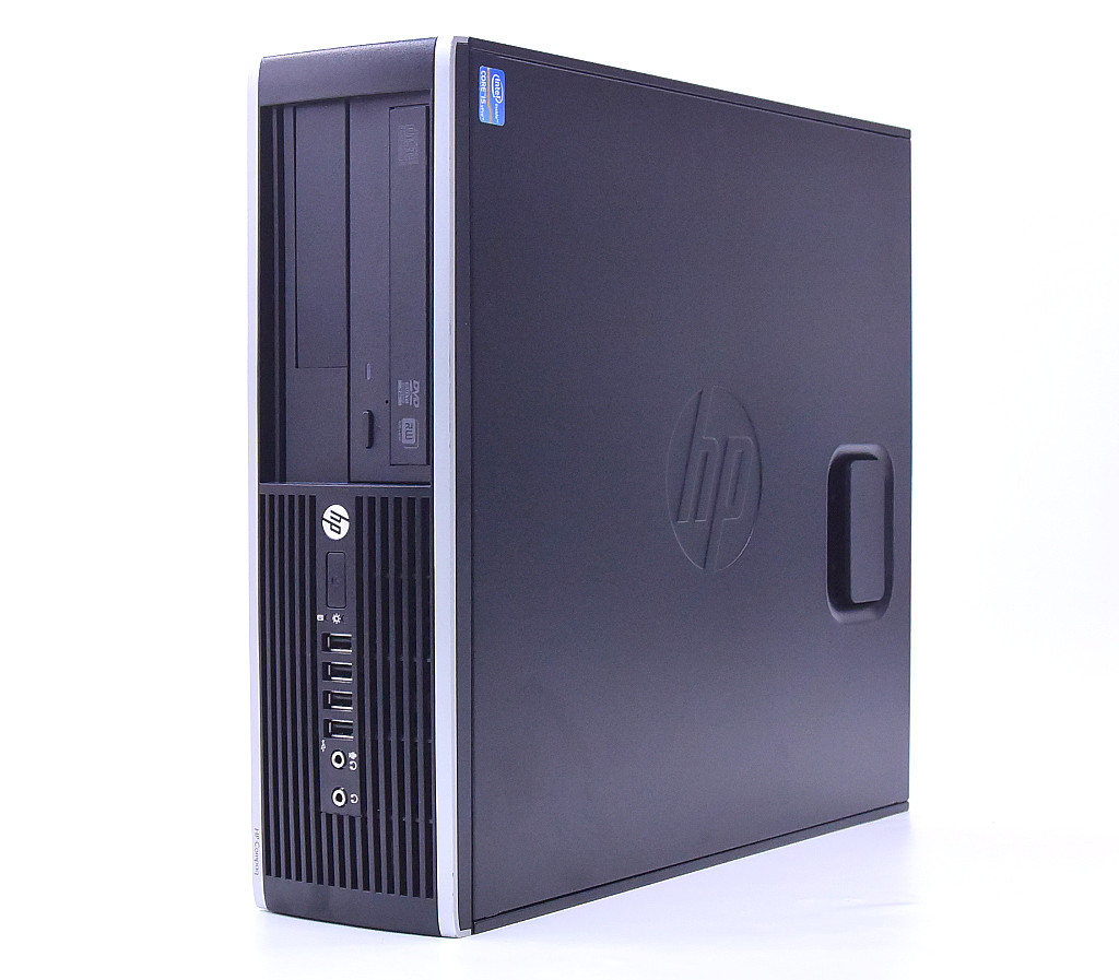 hp Compaq Elite 8300 SFF Core i5-3570 3.4GHz 4GB 500GB(HDD) DisplayPort アナログRGB出力 DVD+-RW Windows10 Pro 64bit 【中古】【20200716】