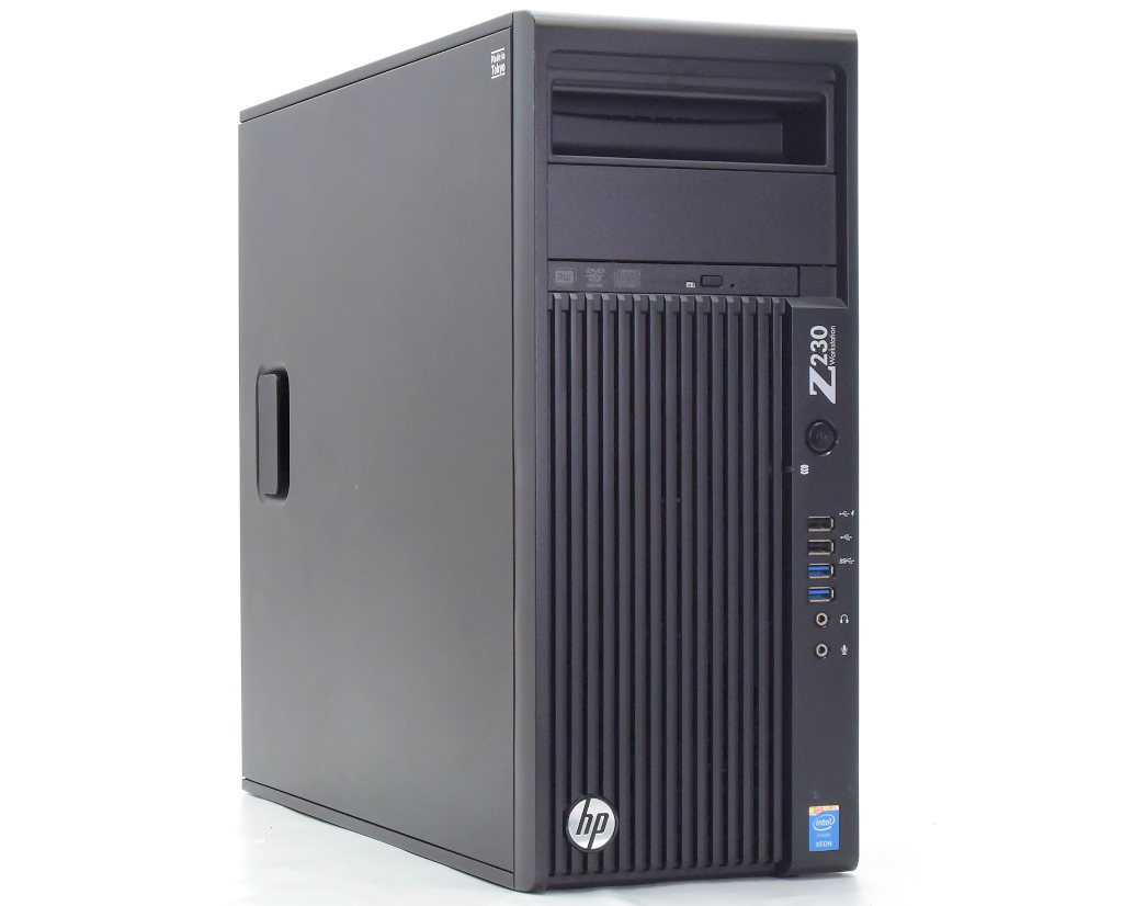 hp Z230 Tower Workstation Xeon E3-1270 v3 3.5GHz 16GB 500GB(HDD) Quadro K2000 DVD+-RW Windows10 Pro 64bit 【中古】【20200716】