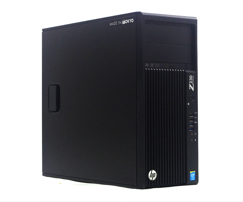 hp Z230 Tower Workstation Xeon E3-1230 v3 3.3GHz 8GB 500GB(HDD) Quadro K2000D DVD+-RW Windows10 Pro 64bit 【中古】【20200721】